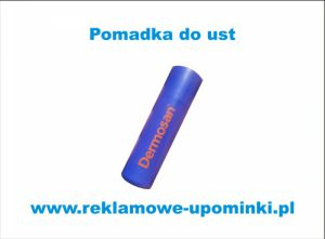 .Pomadka do ust z logo