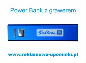 Power Bank z grawerem